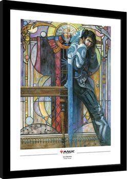 Zarámovaný plagát Magic The Gathering - Jace, The Cunning Castaway