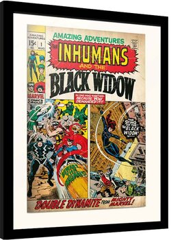 Zarámovaný plagát Marvel - Amazing Adventures
