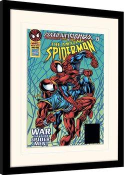 Zarámovaný plagát Marvel Comics - Maximum Clonage