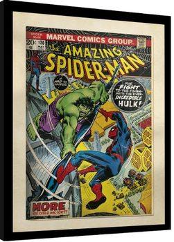 Zarámovaný plagát Marvel Comics - Spiderman