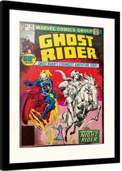 Zarámovaný plagát Marvel - Ghost Riders
