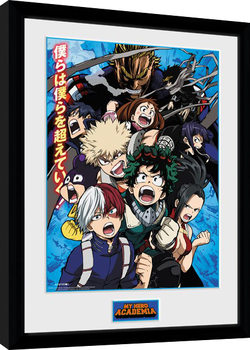 Zarámovaný plagát My Hero Academia - Season 2