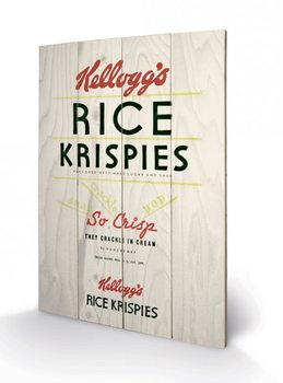 Obraz na dreve VINTAGE KELLOGGS - rise krispies