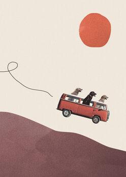 Obraz na plátně Adventure gang
