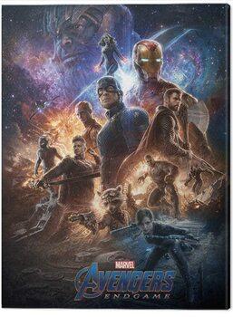 Obraz na plátně Avengers: Endgame - From The Ashes