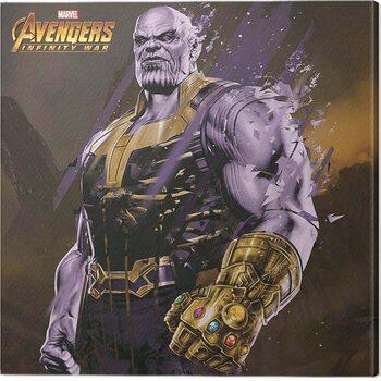 Obraz na plátně Avengers: Infinity War - Thanos Fragmented