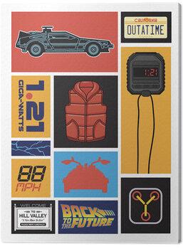 Obraz na plátně Back to the Future - Collection
