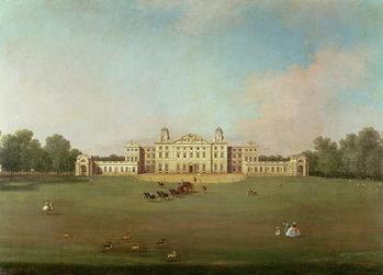 Obraz na plátně Badminton House, Gloucestershire