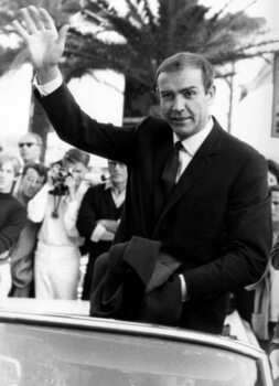 Obraz na plátně Cannes Film Festival : Sean Connery, in 1965