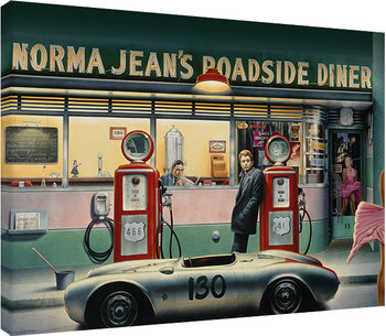 Obraz na plátně Chris Consani - Destiny Highway