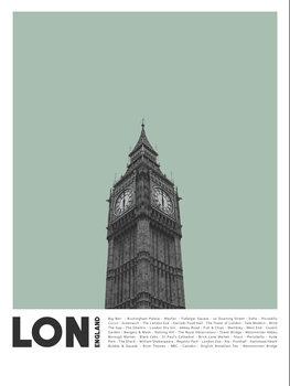 Obraz na plátně Col London 2