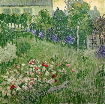 Obraz na plátně Daubigny's garden, 1890