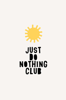 Obraz na plátně Do Noting Club