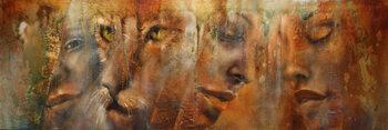 Obraz na plátně Faces