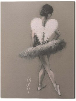 Obraz na plátně Hazel Bowman - Angel Wings III