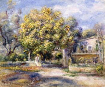 Obraz na plátně Houses in Cagnes, c.1905