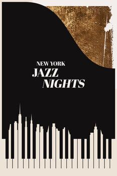 Obraz na plátně Jazz Nights