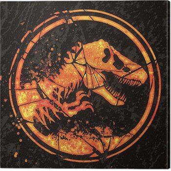 Obraz na plátně Jurassic World: Fallen Kingdom - Logo