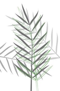 Obraz na plátně Leaf game