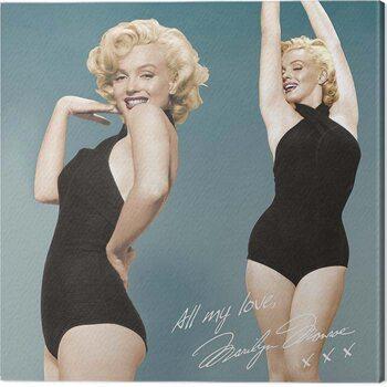 Obraz na plátně Marilyn Monroe - All My Love