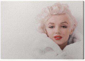 Obraz na plátně Marilyn Monroe - White