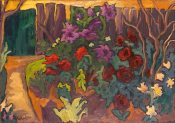 Obraz na plátně Mum's Garden, 2003