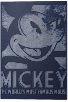 Obraz na plátně Myšák Mickey (Mickey Mouse) - Most Famous Mouse