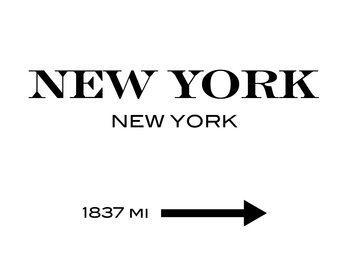 Obraz na plátně New York