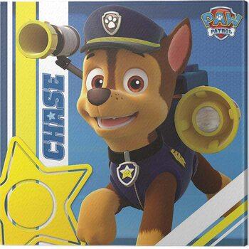 Obraz na plátně Paw Patrol - Chase on Patrol