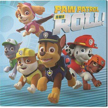 Obraz na plátně Paw Patrol - On a Roll