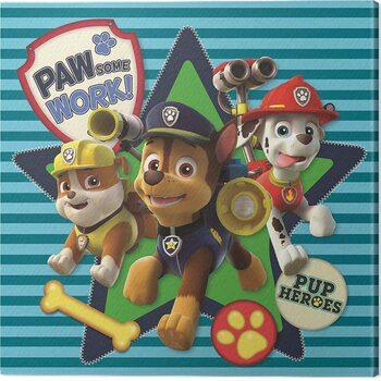 Obraz na plátně Paw Patrol - Pawsome Work