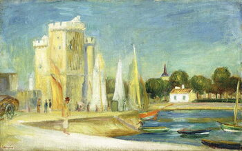 Obraz na plátně Port de la Rochelle, 1896