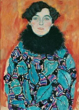 Obraz na plátně Portrait of Johanna Staude