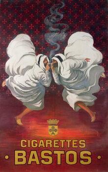Obraz na plátně Poster advertising the cigarette brand, Bastos