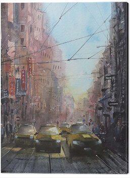Obraz na plátně Rajan Dey - New York on a Sunny Afternoon