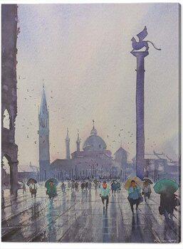 Obraz na plátně Rajan Dey - Venice After Rain