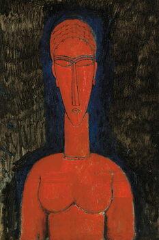 Obraz na plátně Red Bust
