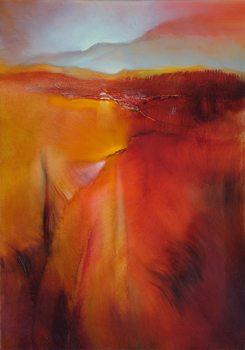 Obraz na plátně Red land