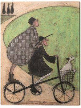 Obraz na plátně Sam Toft - Double Decker Bike