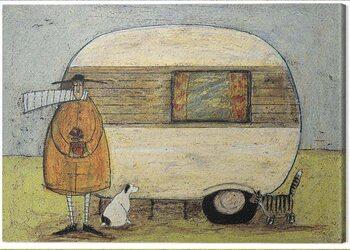Obraz na plátně Sam Toft - Home form Home