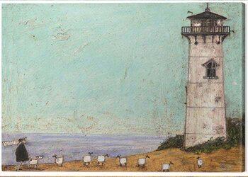 Obraz na plátně Sam Toft - Seven Sisters and a Lighthouse