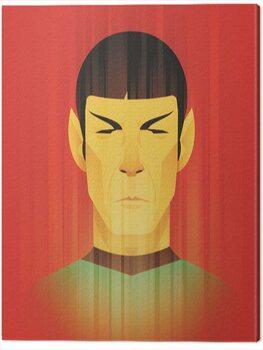 Obraz na plátně Star Trek - Beaming Spock - 50th Anniversary
