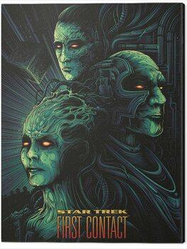 Obraz na plátně Star Trek - First Contact - 50th Anniversary