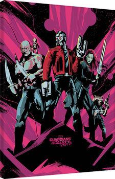 Obraz na plátně Strážci Galaxie Vol. 2 - Unite