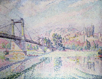 Obraz na plátně The Bridge, 1928