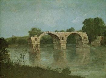 Obraz na plátně The Bridge at Ambrussum
