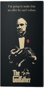 Obraz na plátně The Godfather