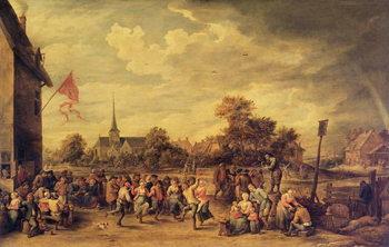 Obraz na plátně The Kermesse