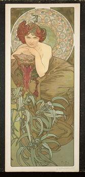 Obraz na plátně The Precious Stones: Emerald