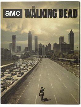 Obraz na plátně The Walking Dead - Road